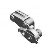 Sheet brake module, left