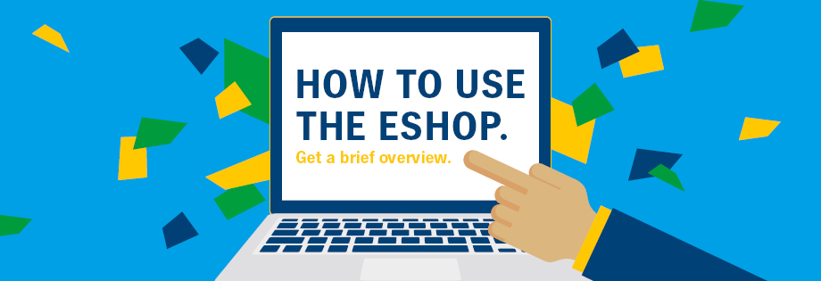 How to use the eshop