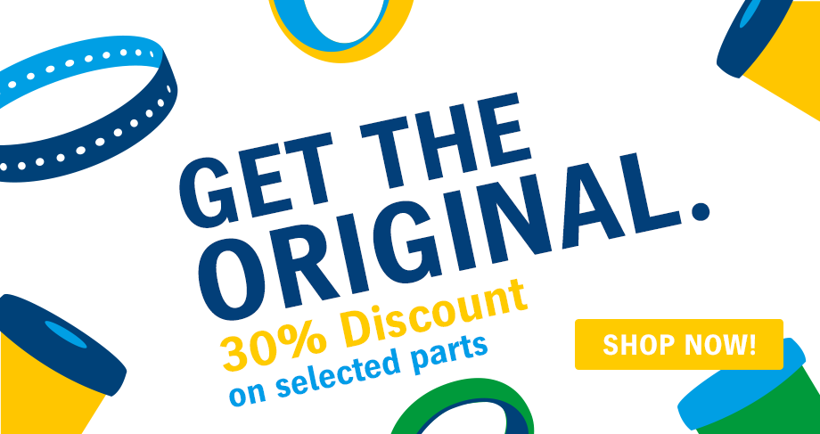 30% off selected parts