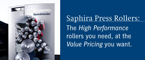 Saphira Press Rollers